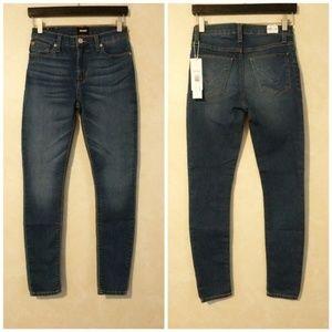 Hudson Blair High Rise Skinny Jeans
